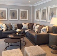 Paint Colour With Large White Frames Sophie Paterson Interiors UK