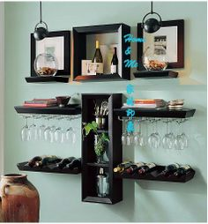 Wall Mounted Metal Wine Gl Rack Http Bottomunion Pinterest And Mount