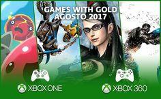 Anunciados los #GamesWithGold para el mes de agosto 2017. Para #XboxOne estarán disponibles: #SlimeRancher y #TrialsFusion y para #Xbox360 estarán: #Bayonetta y #RedFactionArmageddon.