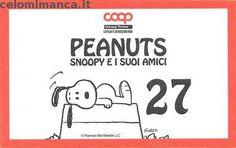 Peanuts Snoopy e i suoi amici: Retro Figurina n. 27 -