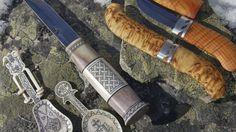 Lauri Tuotteet handicrafts workshop -Rovaniemi, Lapland, Finland Hand Forged Knife, Reindeer Antlers, Handicraft, Workshop, Lapland Finland, Knives, Barrel, Image, Craft