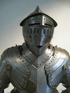 Armor of Pierre Bruner, a Swiss knight in the service of the french crown. ca. 1600