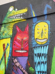 Bault street art - detail
