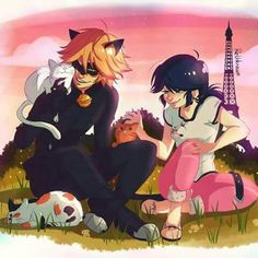 Marichat and kittens