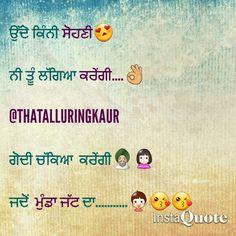 Punjabi Love Quotes Couple Fun Punjabi Couple Quotes Love Best Quotes Hindi Quotes Attitude Quotes On Love Best Quotes Ever