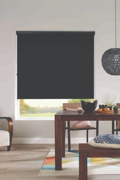 Black is the ultimate decor accent to any room. Small touches create visual interest and drama, and blinds are the perfect way to decorate with black without overpowering your interiors.   #windowblinds #home #homeinspo #homedecor #homesweethome #interiorstyle #interiordesign #meblinds #rollerblinds #blockoutblinds #mediaroomideas #livingroomdecor #officedecor #bathroominspo #homeofficeideas #contemporary #blackdecor #blackblinds Black Blinds, Black Curtains, Blockout Blinds, Living Room Decor, Living Spaces, Blinds Online, Interior Styling, Interior Design, Window Styles