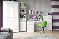 Masa de birou Selene 14, L120xl67xh76 cm #homedecor #office #interiordesign #inspiration Interior Modern, Interiores Design, Office Desk, Corner Desk, Divider, Room, Furniture, Home Decor, Corner Table