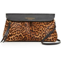 Burberry Prorsum Animal Print Calf Hair Clutch ($1,695) ❤ liked on Polyvore featuring bags, handbags, clutches, flax brown, burberry, crossbody handbags, animal print clutches, convertible purse and crossbody purse