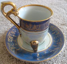 The Emperor's Teacup and Saucer Footed Japan by Ecclecticities, $25.00