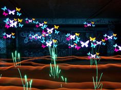painting with light photography | Magical Scenes Created by Light Painting with Stencils