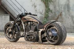Harley-Davidson Screamin Eagle powered Custombike by Thunderbike Customs.