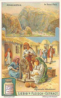 Bolan Pass depicted on a 1910 advertisement card for Liebig Meat Extract Company The Bolān Pass is a mountain pass through the Toba Kakar Range of Balochistan province in western Pakistan, 120 kilometres from the Afghanistan border.