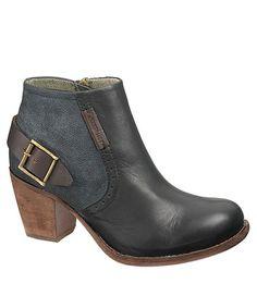 Leather great find Annette Zapatos on Bootie Botas Black zulily zulilyfinds Another fYZdqY