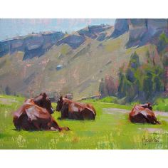 Jennifer McChristian,  'Three's a Crowd' (oil, 8x10 inches)