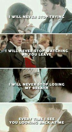 Pride and Prejudice by Jane Austen Pride And Prejudice Quotes, Pride And Prejudice 2005, Pride And Prejudice Fanfiction, Jane Austen Quotes, Jane Austen Novels, Lose My Breath, Darcy And Elizabeth, Look Back At Me, Matthew Macfadyen