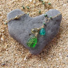 beach love rock