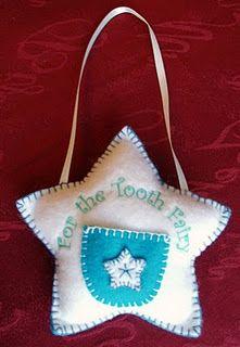 Felt Tooth Fairy Pillows - np
