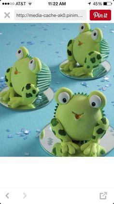 Cute Birthday cupcakes