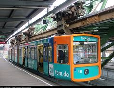 RailPictures.Net Photo: 16 Wuppertal Suspension Railway WSW Unknown at Wuppertal, Germany by Markus Gmür