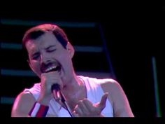 "Queen - ""Who Wants To Live Forever"" (HQ) (Live At Wembley '86)  Freddie jokes with and talks to the audience before he performs ""Who wants to Live Forever"". This is a slower ballad -beautiful song, written by Freddie Mercury."