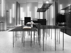Retail Design | display tables | Mouli Store by Guise, Stockholm – Sweden