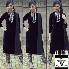 Black Velvet Suit With Brocade B Along with Net Silk Dupatta  Price : 1300 INR Only ! #Booknow  CASH ON DELIVERY Available In India !  World Wide Shipping ! ✈  For orders / enquiry 📲 WhatsApp @ +91-9054562754 Or Inbox Us , Worldwide Shipping ! ✈ #SHOPNOW  #fashion #lookbook #outfitsociety #fashiongram #dress #model #urbanfashion #luxury #fashionstudy #famous #style #fashionkiller #swag #classy #cute #shopping #glam #me #popular #fashionstylist
