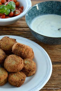 Falafel Falafel, I Foods, Muffin, Breakfast, Ethnic Recipes, Blog, Falafels, Blogging, Muffins