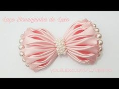 Бантик 3D МК Новый Оригинальный/DIY Beautiful bow of satin ribbons - YouTube