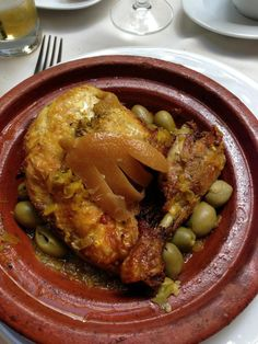 10 Classic Moroccan Tagine Recipes That You Have to Try: Chicken with Preserved Lemon and Olives