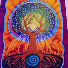 Tree of life - is part of the symbolism of Kim's T.O.L. Services - on one branch is a dragonfly representing my healing work