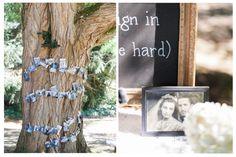 Guest Sign In Ideas. www.WhidbeyIslandWedding.com