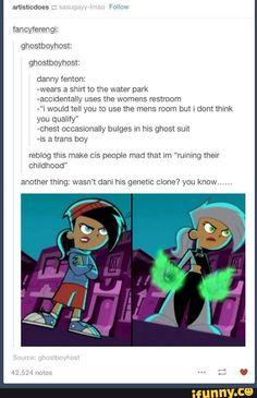 Danny Phantom Transgender