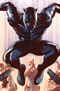 BLACK PANTHER #1 TA-NEHISI COATES (W) • BRIAN STELFREEZE (A) VARIANT COVER BY ALEX ROSS