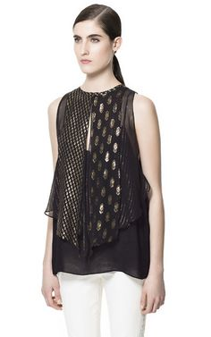 Image 1 of STUDIO TOP from Zara