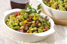 Salada de Favas com Linguiça -TeleCulinária GOLD Nº 96