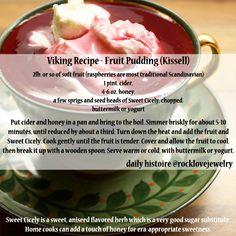 Daily Histoire | Viking Recipes More...