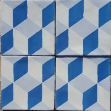 All of our glazed tiles are screen printed in Stoke-on-Trent in the UK. Each tile is individually crafted to create subtle differences between them. Our glazed range is produced on a smaller scale whilst still offering the same patterns and colours as our encaustic range with our core colour ways being black, grey, pink, green, blue and white. Bespoke colour ways can be created for you from the Bert & May natural pigments collection. Our glazed tiles are designed to improve with age as the…