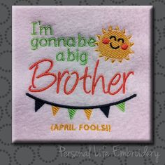 Big Brother Regular AND April Fools Versions Combined Set Machine Embroidery…