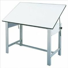 Bundle-29 DesignMaster 4-Post Steel Drawing Table without Drawers (Set of 2) Base Color: Gray by Alvin and Co.. $1289.98. [***INCLUDED IN THIS SET: (2)DesignMaster 4-Post Steel Drawing Table without Drawers] Base Color: Gray Features: -Comes with a lifetime guarantee.-Board angle adjusts from 0° to 45°.-Welded legs form a 3 '' x 2 '' post for stability and support.-Available with a black or gray electro-static powder coated base.-Table height is 37 ''.-Table top board an...