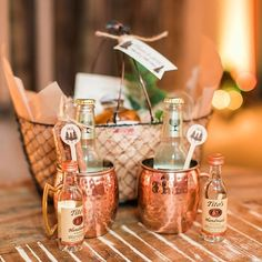 What guest wouldn't love receiving this artisanal Apple Moscow Mule basket as a…