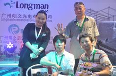 2015 Guanghzou prolight+sound exhibition Customers visit Longman outdoor stage light stand