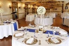 Image Search Results for SILVER And royal blue wedding ideas