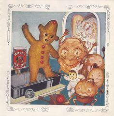 Illustrator: Chas. J. Coll : Royal Baking Powder ad