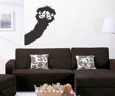 Ostrich  uBer Decals Wall Decal Vinyl Decor Art by uBerDecals
