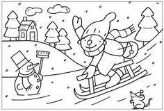 Kleurplaten Pompom Winter.33 Beste Afbeeldingen Over Kleurplaten Pompom Printable Coloring