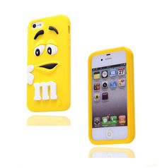 Soft Silicone Kawaii Case cover for iPhone 4/4S ILY07