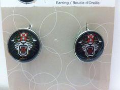 Custom Marco Simoncelli 58 motogp earrings 1 by FiveEightDesign, $10.00