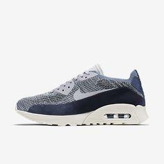 buy popular 5af24 cab5a Chaussure Nike Air Max 90 Pas Cher Femme Ultra 2 0 Flyknit Pncl Brouillard  Docean Platine