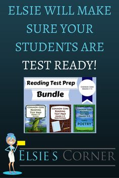 Check out our Reading Test Prep Products! Your kiddos will LOVE our selection of passages! Of course, all of our test prep products are Common Core aligned! If you are looking for a bargain, check out our newest Test Prep bundle! It includes 5 passages of each of the following categories: Non-Fiction, Fiction and Poetry.