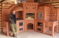 Elegant modern clic home for a oven stoves and heat walls brick masonry fireplaces part 1 modern outdoor fireplace design picture of mazama country innMasonry Stoves Heaterasonry Fireplaces Build YourSunbathing. Cob Building, Building A House, Green Building, Wood Stove Heater, Wood Heaters, Küchen Design, House Design, Earthship Home, Outdoor Oven